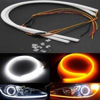 """Lampu DRL Flexible LED """"Osram"""" Alis 60cm 2 Warna"""