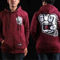 jaket friday killer marun