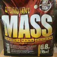 MUTANT MASS GAINER 15 lbs whey protein serious carnivor bcaa creatine