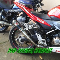 Knalpot Racing Akrapovic Gp M1 Carbon Fullsystem Cb 150 R/Cb150 New