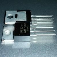 Transistor TR IRF520 IRF520N Power MOSFET TO-220 IR