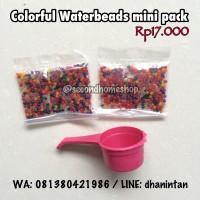 Jual Waterbeads mini package mainan sensory anak water beads hydrogel murah Murah