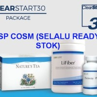 UNICITY 3 IN 1 CLEARSTART 30 NATURE TEA-LIFIBER-PARAWAY (READY STOK)