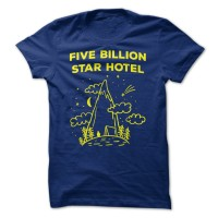 Five Billion Star Hotel shirt men T Shirt Music Rock band printed
