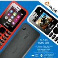 harga Hp Aldo Al-138 / Al138 / Al 138 Dual Sim || Garansi 1 Tahun Tokopedia.com
