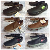 Sepatu Pria Crocs Tideline Sport Leather Original (Garansi Termurah)
