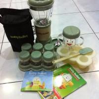Jual baru Blender makanan baby bullet set murah makanan bayi 16 Multifungsi Murah