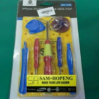 Obeng Set Iphone / Obeng Service Hp Tool Set 1708