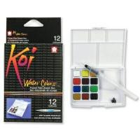 Koi Watercolour Pocket 12