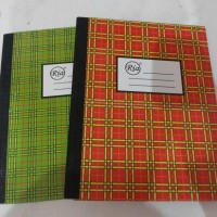 Buku Kwarto Ria Hardcover 100 Lembar Atk