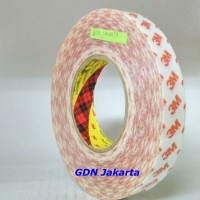 3M Double Coated Tissue Tape 9007 , 1 inch x 50 meter