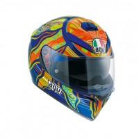 Helm AGV K3 SV Five Continents Valentino Rossi Visor Full K3SV