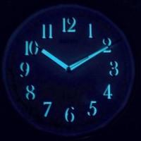Seiko Wall Clock QXA659 Silver Gold Lumibrite / Jam Dinding QXA 659