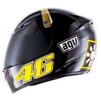 Helm AGV K3 Sword Valentino Rossy 46 Full Black Fullface Original