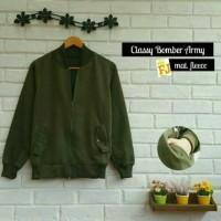 Sweater / Jaket - Atasan Pria - Classy Bomber Army