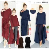 harga BL6026 opened dress ikat 2 ways 2in1 baju maxi dress panjang Tokopedia.com