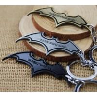 Gantungan Kunci Super Hero Batman Key Chain | Stainless Steel Holder