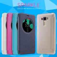ASUS ZENFONE 3 LASER 5'5 (ZC551KL) NILKIN SPARKLE LEATHER CASE ORI 100