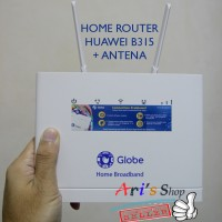 Jual HOME ROUTER CPE 4G LTE GLOBE HUAWEI B315 UNLOCK + ANTENA | BUKAN BOLT Murah