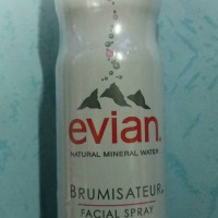 evian spray natural mineral water