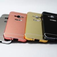 Samsung Galaxy V G313 Ace 4 Aluminum Bumper Mirror Hard Back