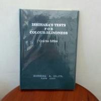 Buku Tes insihara ihsihara Ishihara buta warna 14 plates tes mata