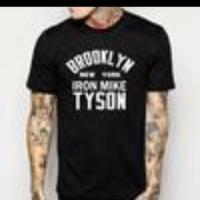 T-SHIRT BROOKLYN NEW YORK IRON MIKE TYSON(S,M,L,XL)