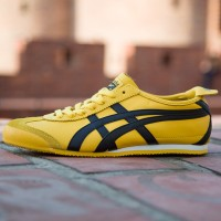 ONITSUKA TIGER MEXICO 66 KILL BILL SERIES YELLOW WITH NAVY STRIPES