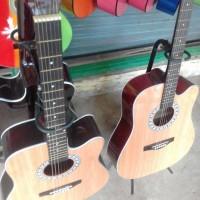 harga Gitar Akustik Jumbo Yamaha Tokopedia.com