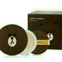 Jual MISSHA M Magic BB Cushion Brown Edition (Set) Murah