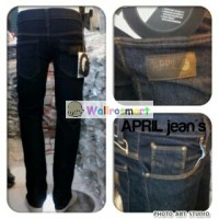 CELANA APRIL 77 SKINNY BLUEBLACK / JEANS APRIL77 BIRU DONGKER / NAVY1
