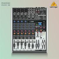 Behringer X1204USB (Mixer Sedang Premium, Soundcard Recording, Efek)