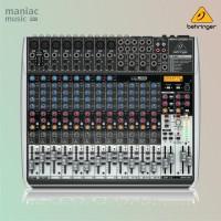 Behringer QX2222USB (Mixer Besar Premium, Soundcard Recording, Efek)