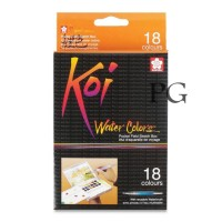 Sakura KOI WaterColors 18 Color Sketch Pocket Box Set (6 SET)