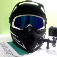 Mounting Helm Action Cam Motovlog Car Vlog Bike Vlog Helmet Front Moun