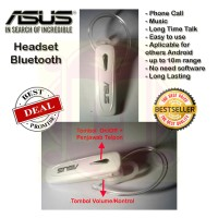 Handsfree Bluetooth ASUS Earphone Headphone Headset Bluetooth ASUS