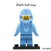Lego Original Minifigure Shark Suit Guy