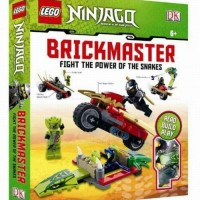 LEGO NINJAGO BRICKMASTER FIGHT THE POWER OF SNAKES (INCLUDE BOOK)