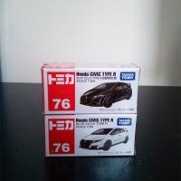 Tomica Reguler 76 Set Honda CIVIC Type R White Black