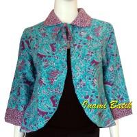 Blazer Batik Kimono Bolak Balik Wanita Kerja