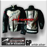 harga Jaket Motor Keren Alpinestar Gp (hitam-putih) Tokopedia.com