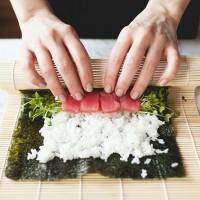 Sushi Bamboo Roll Mat / Tikar Pengguling Sushi