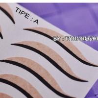 Jual Scott A&B | scott mata eyeliner, sticker eyeliner, eyeliner tempel, Murah
