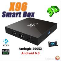 Jual Android Tv Box X96 4k S905x Android 6.0 Ram 2GB/16GB Murah