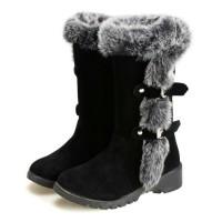 Exlusif Winter Warm Boots Sepatu Boot Salju Import