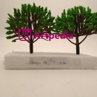 MAKET Pohon/Diorama Pohon/Miniatur Pohon 10 cm/Tree / Type AB-10CM