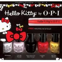 Jual OPI MINI Hello Kitty 2016 Collection FREE Dotting Tools/Brush Nail Art Murah