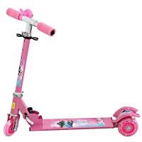 Jual Skuter anak Besi Pink - Skuter Besi Frozen - Scooter Frozen Pink Murah