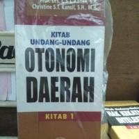 KITAB UNDANG-UNDANG OTONOMI DAERAH 01#PETRA TOGAMAS#FREE SAMPUL#