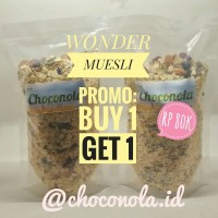 Wonder Muesli 500gr. Promo! Buy 1 Get 1